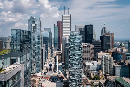Epic City Skyline of Toronto Canada Tapéta, Fotótapéta