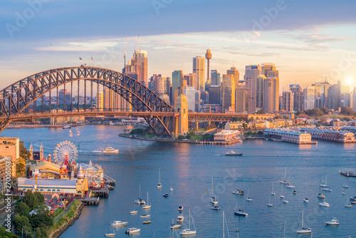 Photo Downtown Sydney skyline in Australia