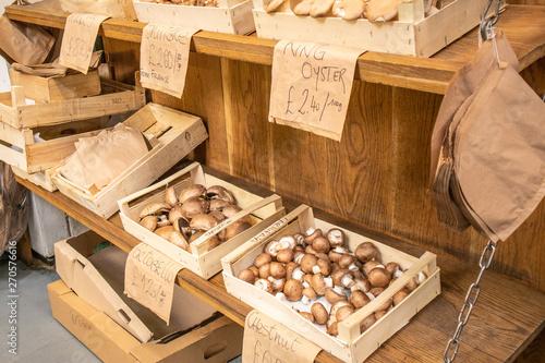 Fotografia, Obraz Mushroom in the Borough Market, London