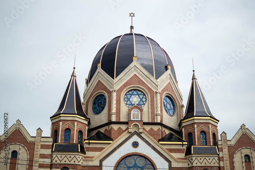 the roof of the synagogue Fototapeta