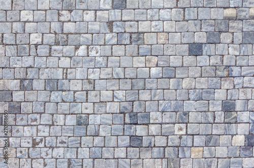 Canvas Print Background of stone floor texture.