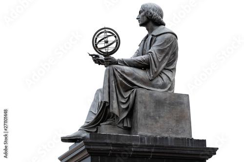 Nicolaus Copernicus Monument in Warsaw Fototapete