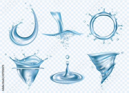 Photo Water splashes