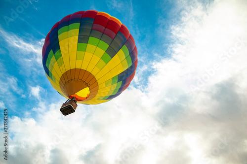 hot air balloon Fototapeta