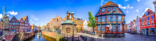 old town of stade in north germany