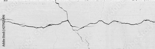 Fotografija crack white wall texture