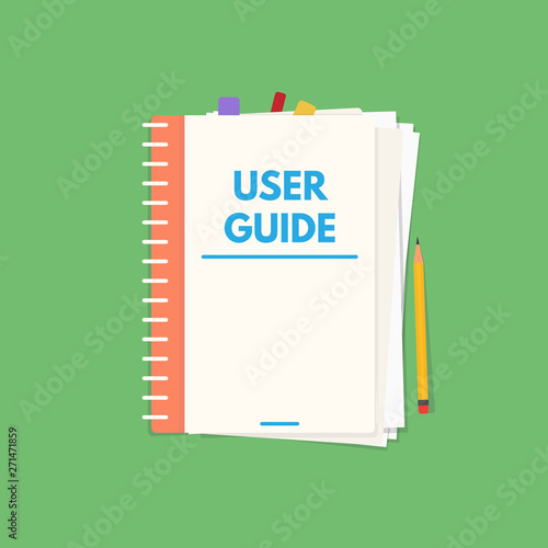 Canvas Print User guide book