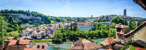 Tablou Canvas Fribourg en Suisse