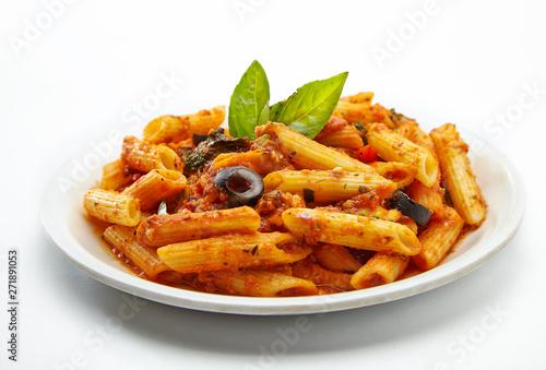 Valokuva pasta with tomato sauce