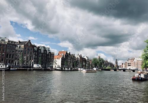 Obraz na plátne Amsterdam- Centrum