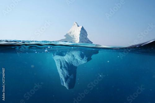 Fotografie, Tablou Iceberg in the ocean