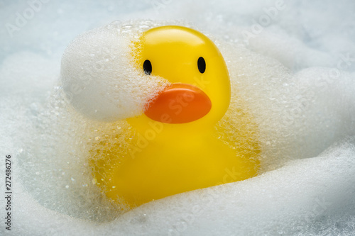 Photo Rubber Duckie Bathtime