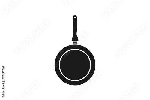 Fotografie, Obraz Frying pan icon simple element illustration can be used for mobile and web