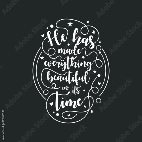 Photo Quote about life that inspires and motivates with typography lettering