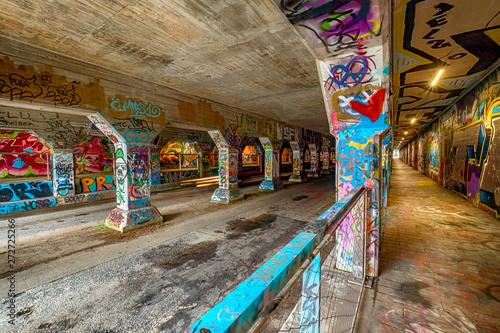Krog Street Tunnel, Atlanta, Georgia