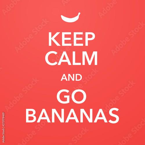 british motivational poster replica with banana joke фототапет