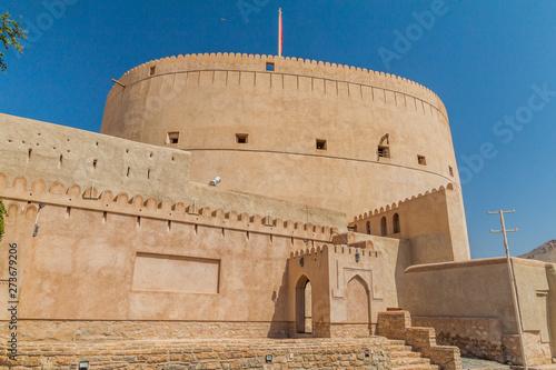 Fotografiet Tower of Nizwa Fort, Oman