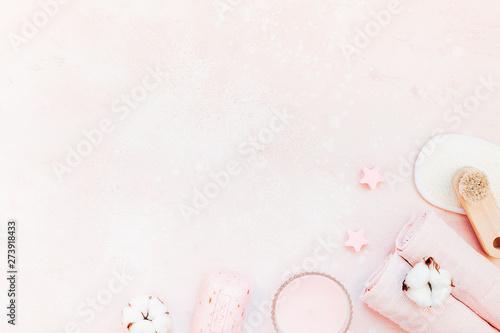 Spa, beauty cosmetics and body care treatment