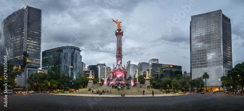 Mexico´s city monument