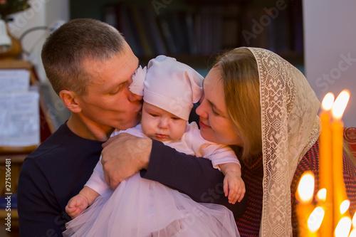 Photo Baptism of the child