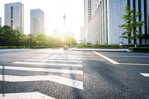 Fotografia road in city