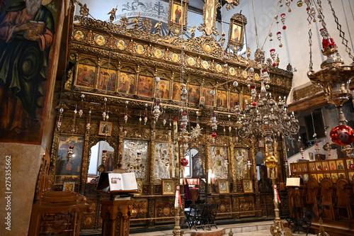Iconostase de l'église de la nativité Fototapeta