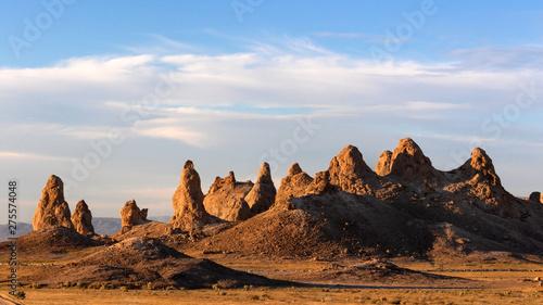 Obraz na płótnie Trona Pinnacles, Trona Pinnacles, California Desert National Conservation Area