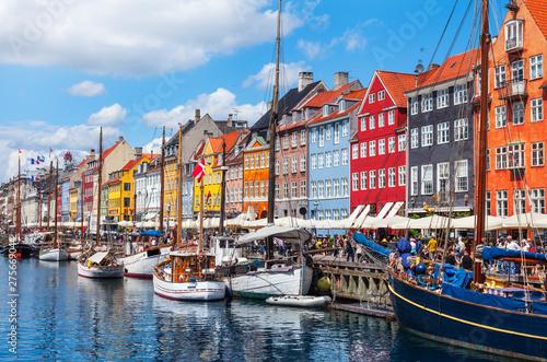 Canvas Print Kopenhagen