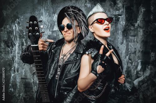 Obraz na plátně music rock band