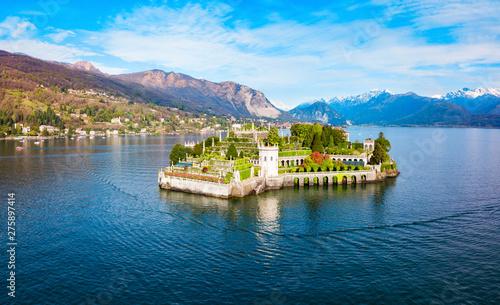 Stampa su Tela Isola Bella, Lago Maggiore Lake
