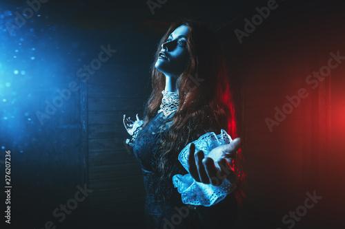 Obraz na płótnie den of witch