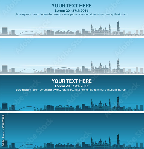 Zaragoza Skyline Profile Event Banner