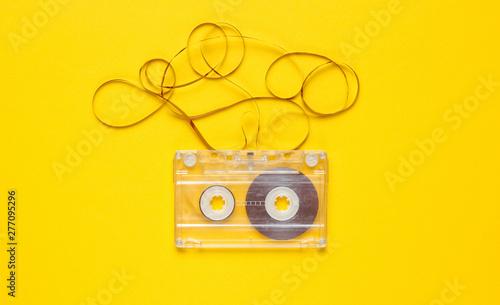 Fotografie, Obraz Music lover minimalism concept