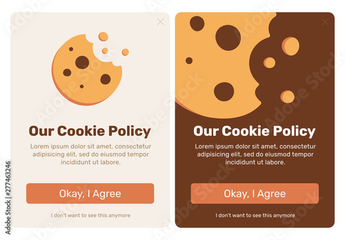 Canvas Print The cookie pop up