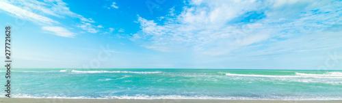Fotografija Turquoise water and blue sea in Siesta Key beach