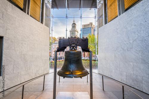 Canvas-taulu Liberty Bell in Philadelphia