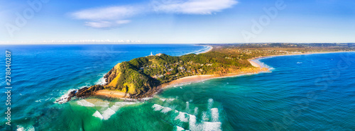 Canvas Print D QLD Byron Bay Headland Pan
