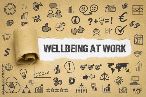 Wellbeing at work Fototapete