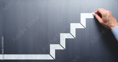 Fotografija Steps to succeed in business