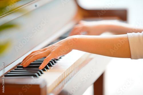 Fototapeta ピアノの演奏