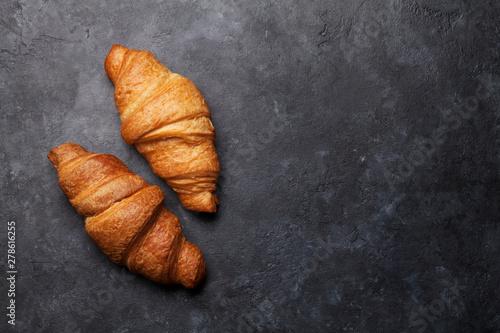 Fotomural Fresh croissants