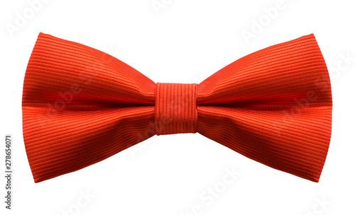 Fotografia Red Bow Tie Cut Out