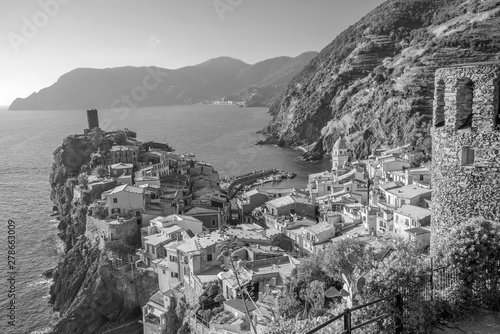 Canvas View of Vernazza