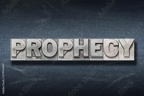 Carta da parati prophecy word den