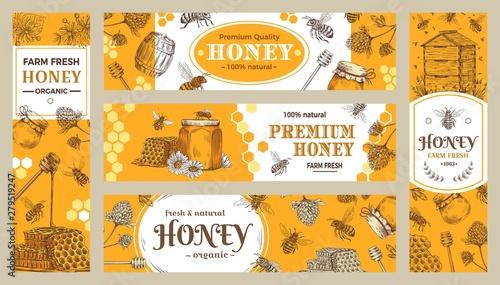 Fotografia Honey banner