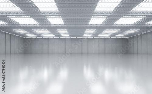 Canvas-taulu Interior empty factory