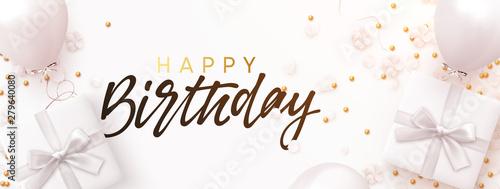 Photo Happy birthday banner