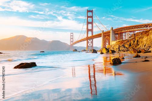 Naklejki na meble Most Złota Brama w San Francisco