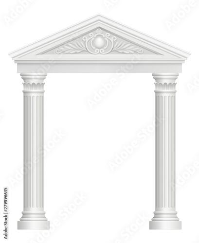 Photo Antique arch