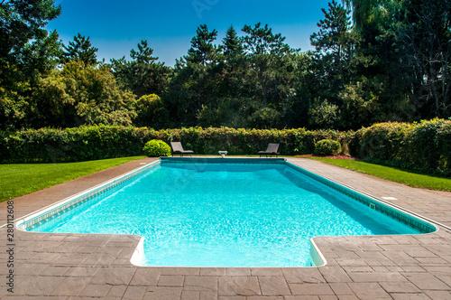 Swimming pool. Tapéta, Fotótapéta